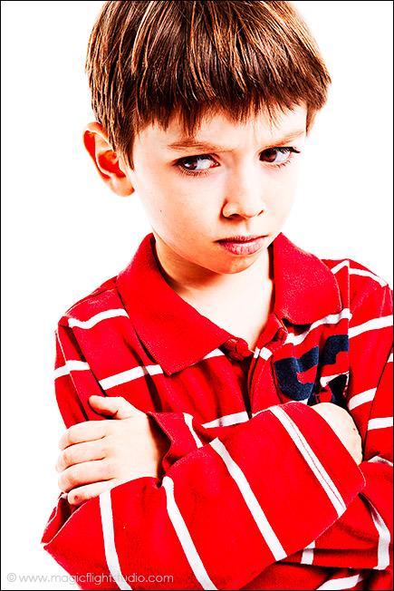Gabriel boude, Photo enfant en studio