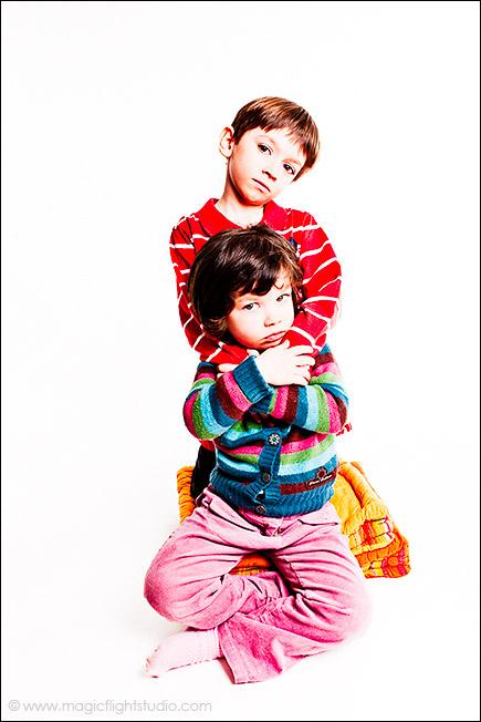 Calin, bref, Portrait enfant en studio