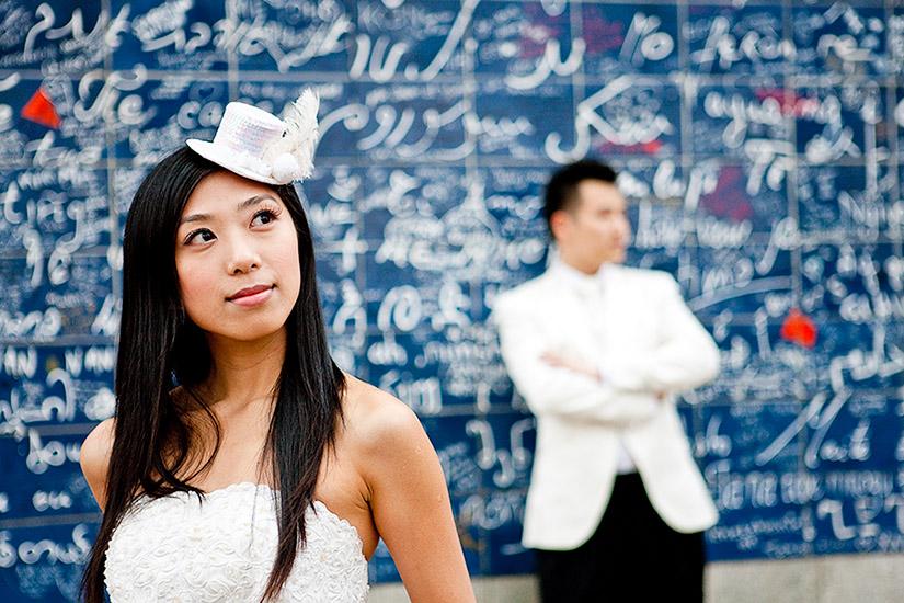 Pre wedding in Paris, David and Elsa. 16