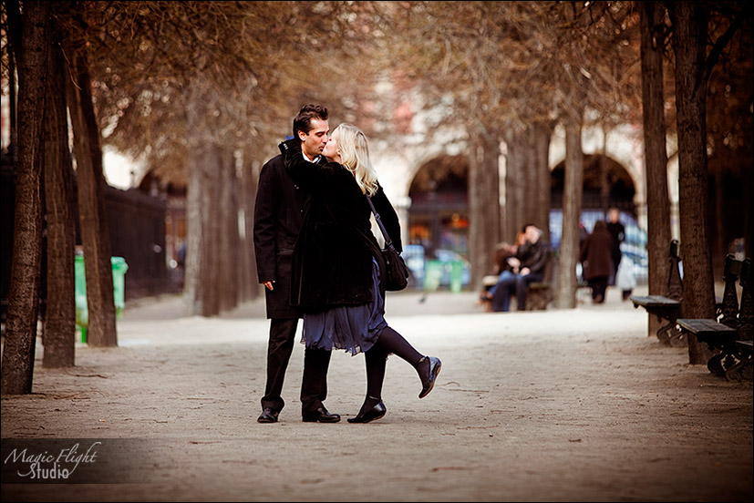 Love in Paris, Alice and Jahed, ten years after... 2