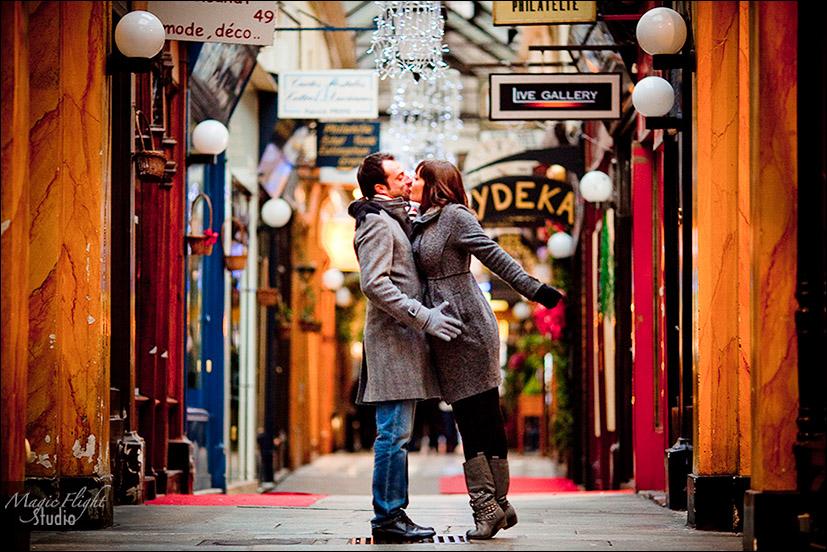 photos dans Paris en hiver