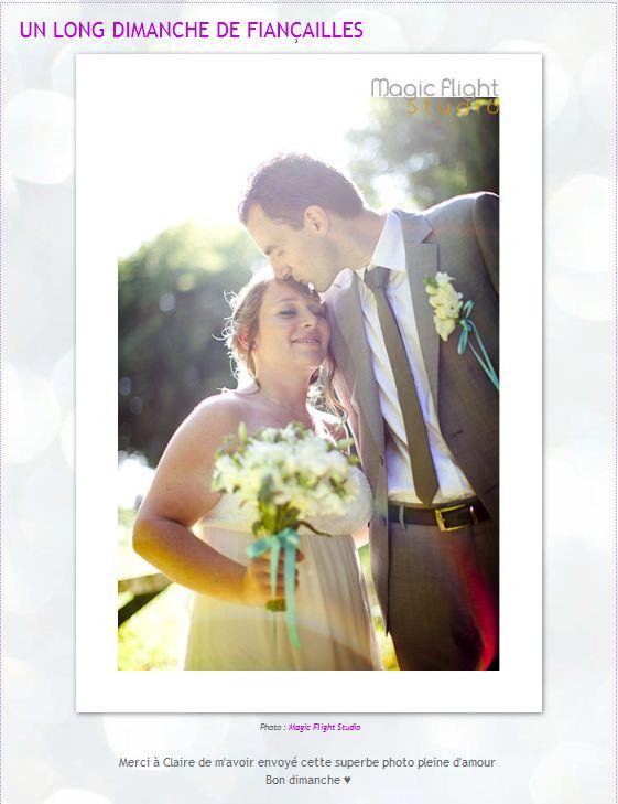 Parution web, photographe mariage 5