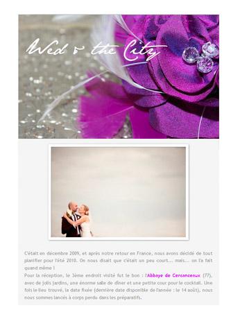 Parution web, photographe mariage 14