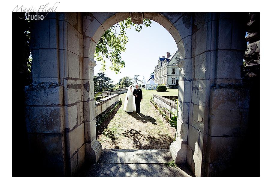 Eleonora & Clément, mariage dans la vallée de la Loire. 7