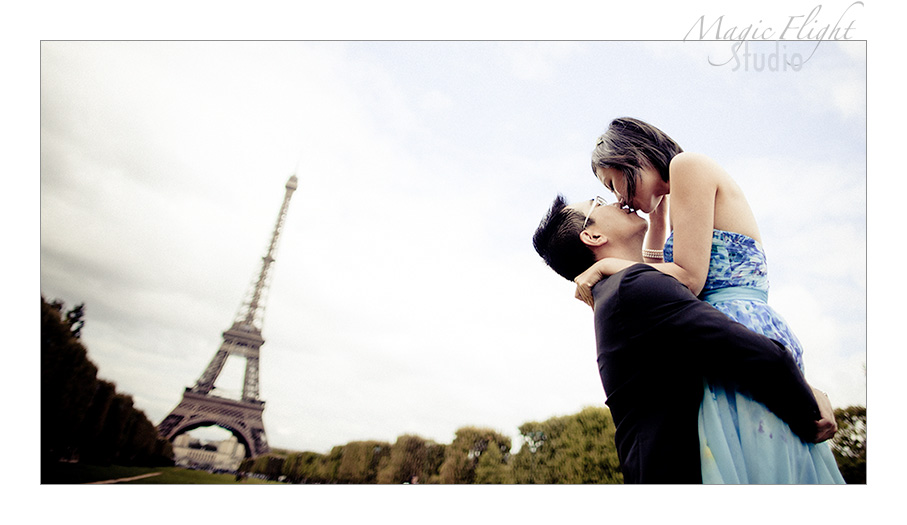 法国婚纱摄影, pre wedding shoot in Paris 10