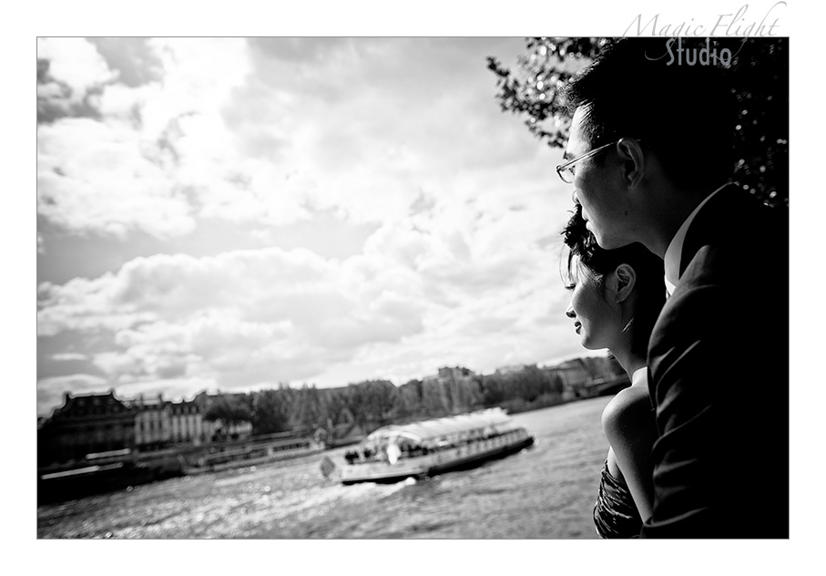 法国婚纱摄影, pre wedding shoot in Paris 12