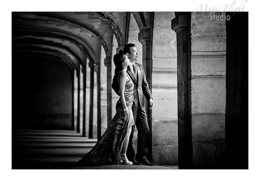 法国婚纱摄影, pre wedding shoot in Paris 13