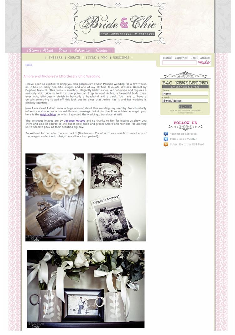 Parution web, photographe mariage 9