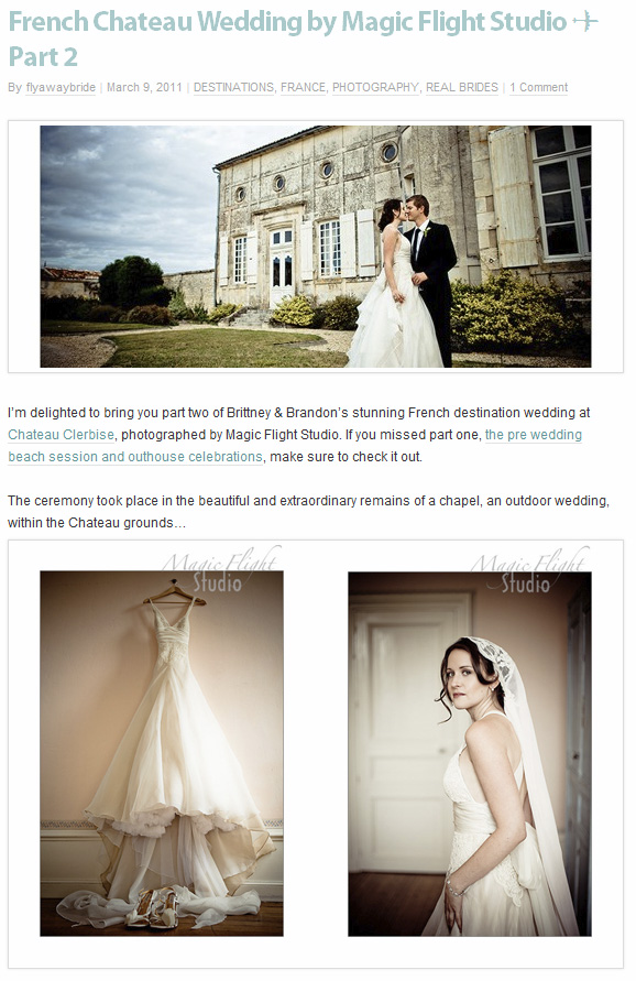 Parution web, photographe mariage 8
