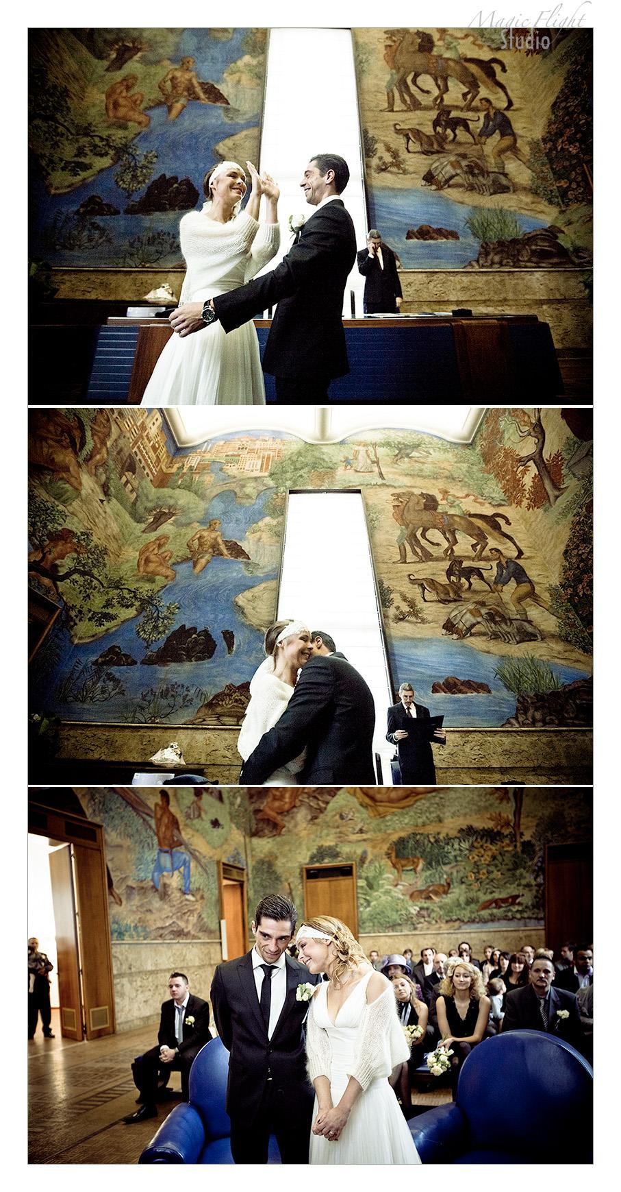 Ambre et Nicolas entre le Trianon Palace et La Villa de Chèvreloup 7