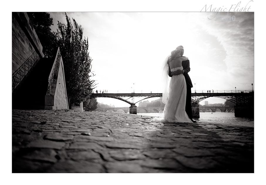 Jasmine & Dennis, pre mariage à Paris 1