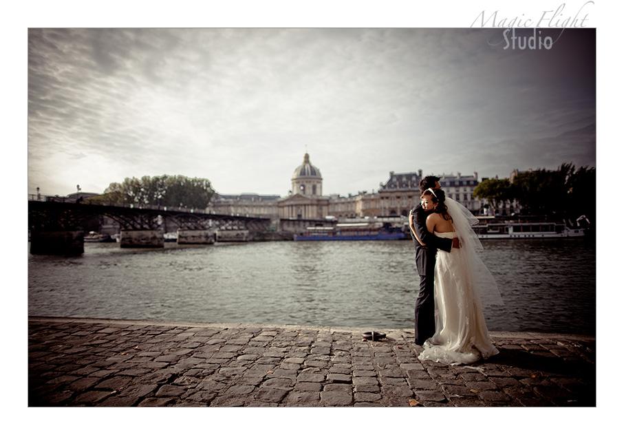Jasmine & Dennis, pre mariage à Paris 3