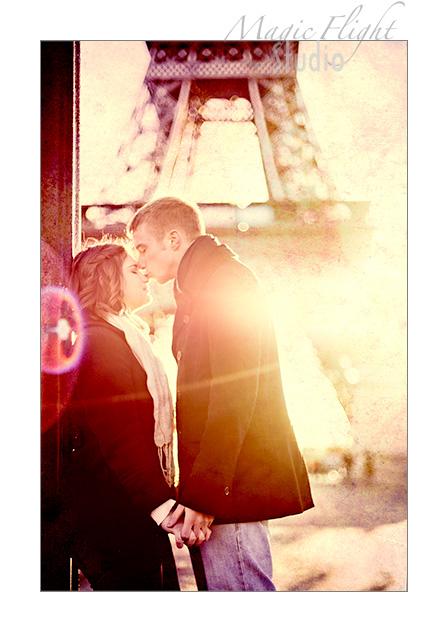 Katie & Ryan, engagement à Paris 5