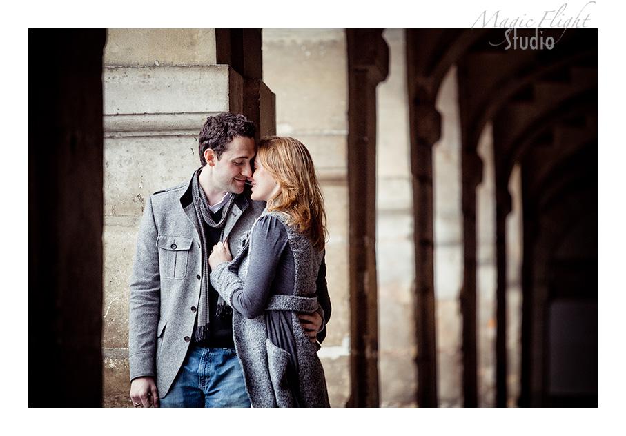 Sarah & Xavier, Engagement à Paris 2