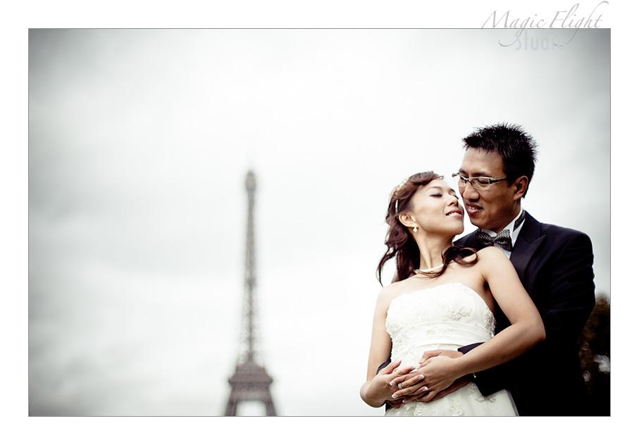 Jasmine & Dennis, pre mariage à Paris 6