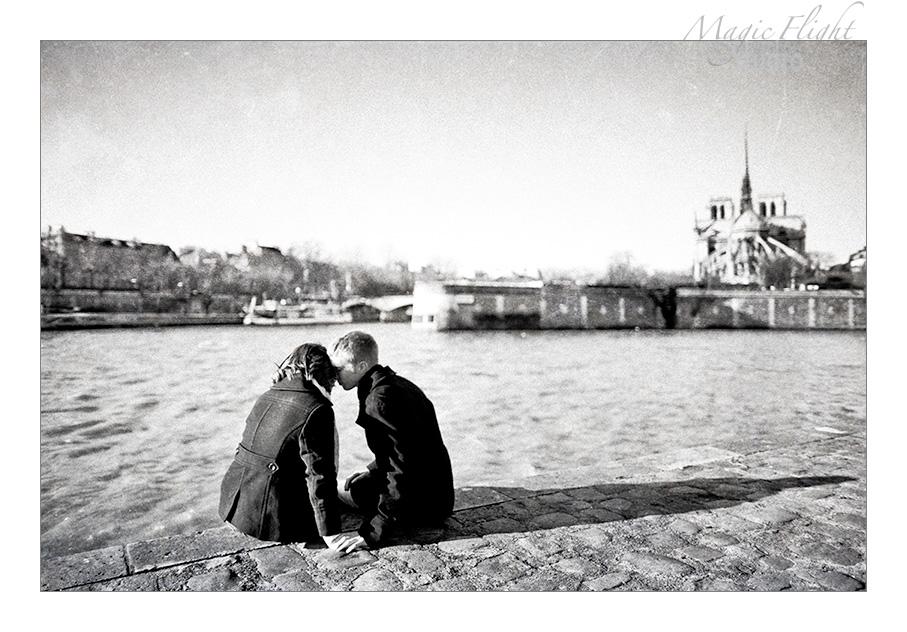 Katie & Ryan, engagement à Paris 8