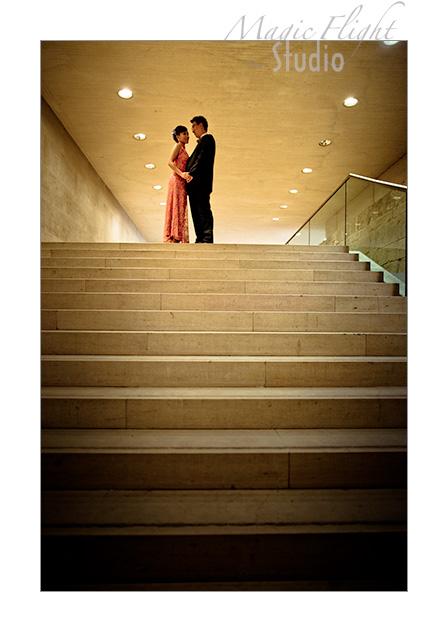 Jasmine & Dennis, pre mariage à Paris 7