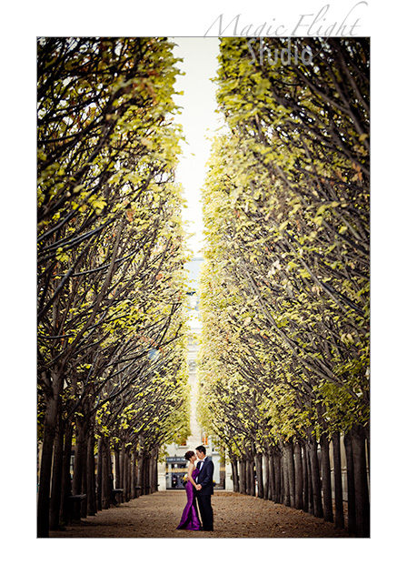 Jasmine & Dennis, pre mariage à Paris 8