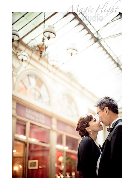 Jasmine & Dennis, pre mariage à Paris 9