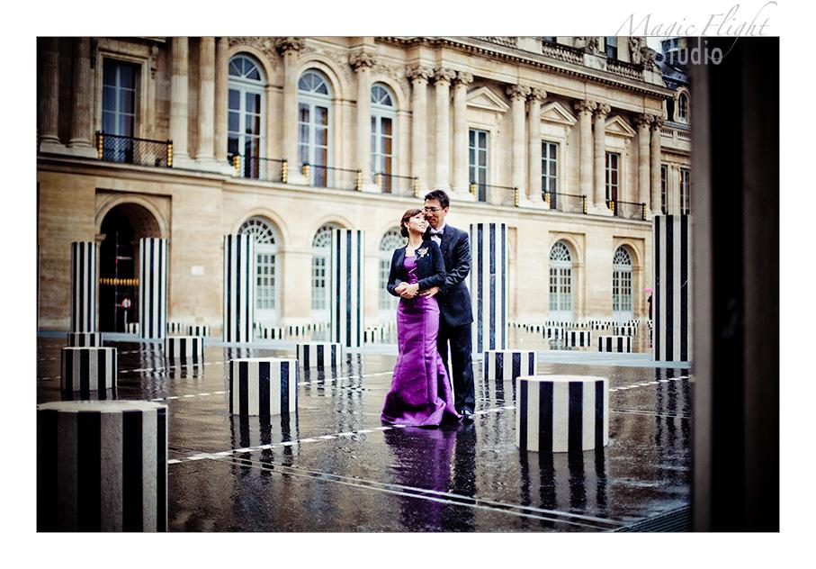 Jasmine & Dennis, pre mariage à Paris 10