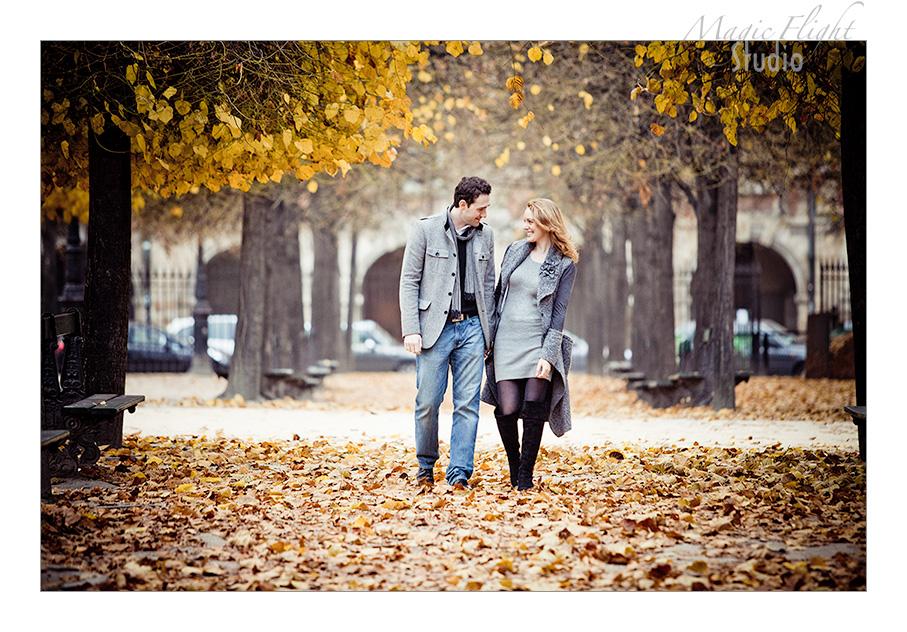 Sarah & Xavier, Engagement à Paris 3