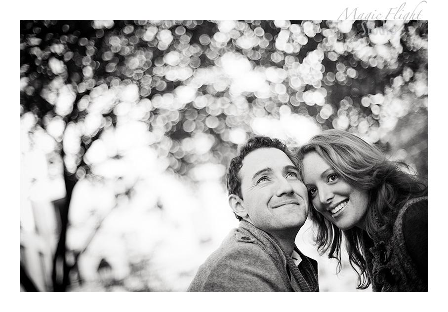 Sarah & Xavier, Engagement à Paris 6