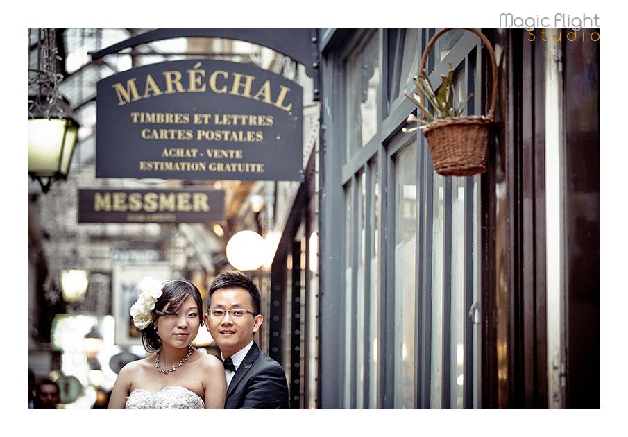 法国婚纱摄影, pre wedding shoot session in Paris 2