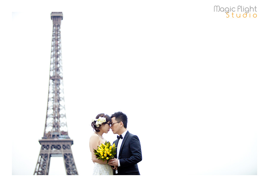 法国婚纱摄影, pre wedding shoot session in Paris 9