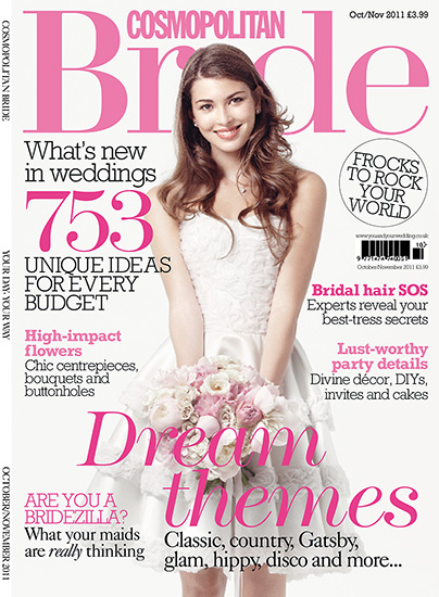 featuring in Cosmopolitan bride 1