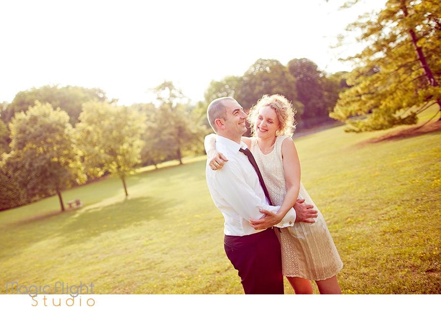 Stéphanie et Franck pour des photos de couple 13