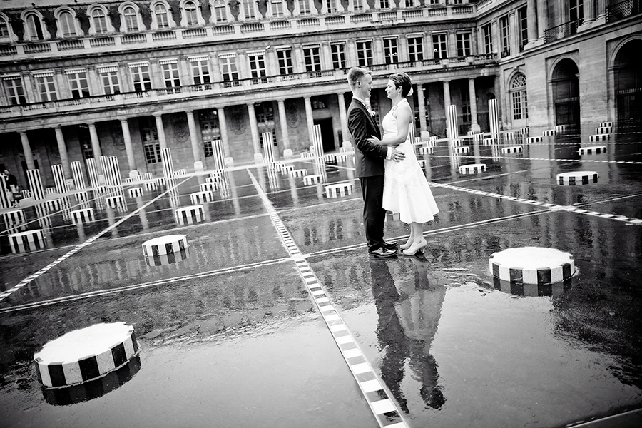 Siw & Christian, intimate wedding in Paris 3