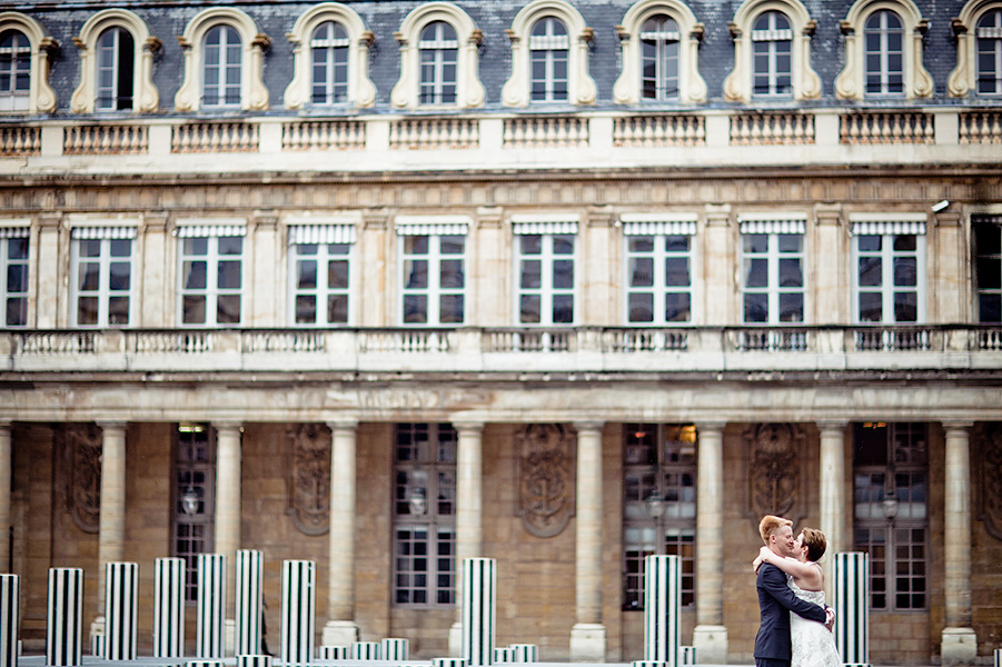 Siw & Christian, intimate wedding in Paris 5