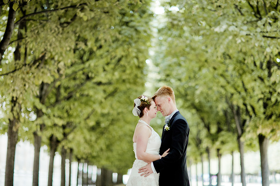 Siw & Christian, intimate wedding in Paris 6