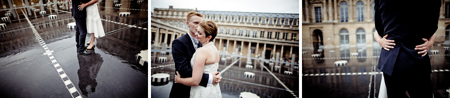 Siw & Christian, intimate wedding in Paris 4