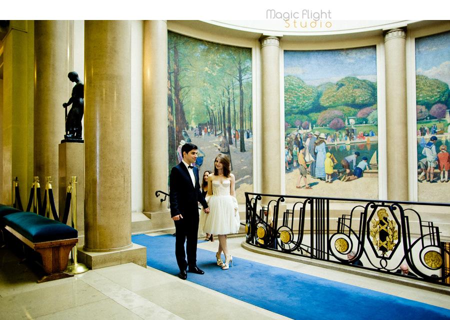 Mariage au pavillon de musique 1