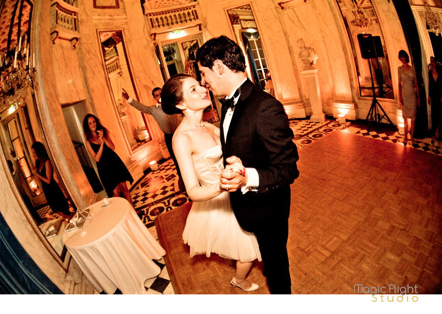 Mariage au pavillon de musique