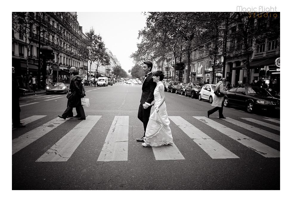 Gwen & Joby in Paris 14