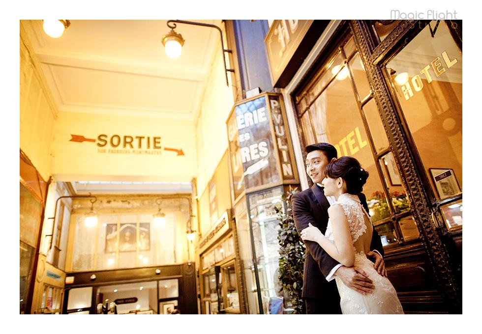 Gwen & Joby in Paris 16