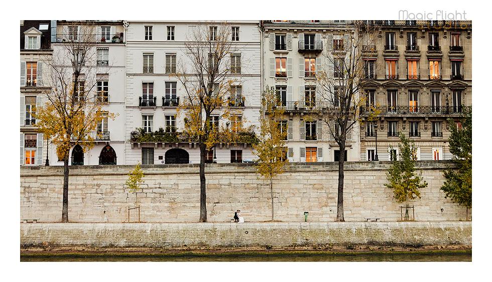 Gwen & Joby in Paris 18