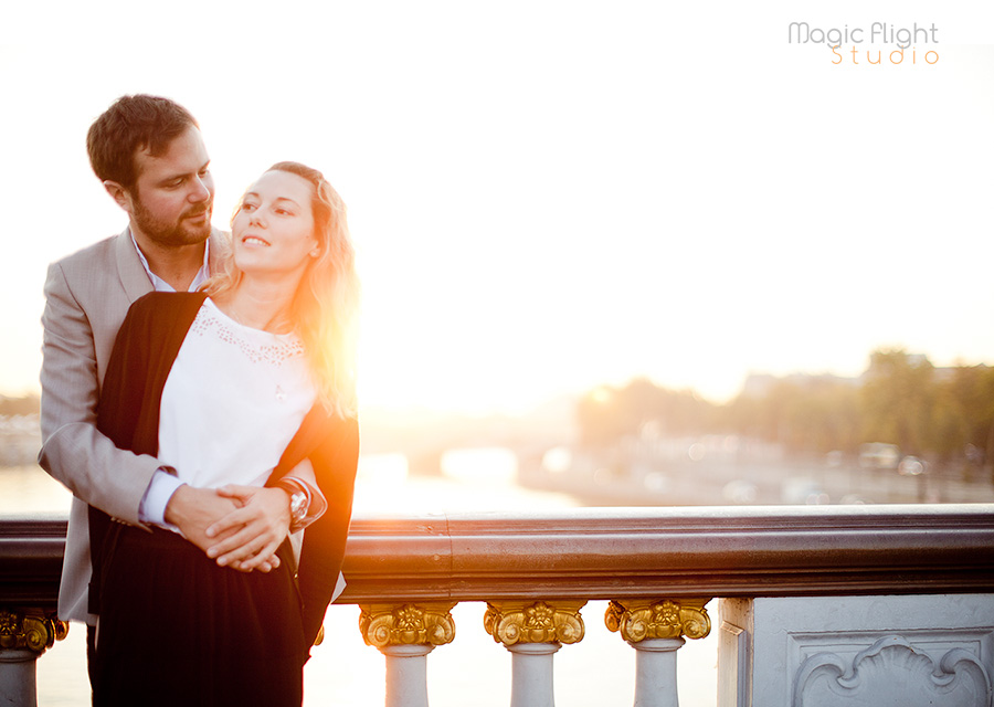 photos de couple à Paris