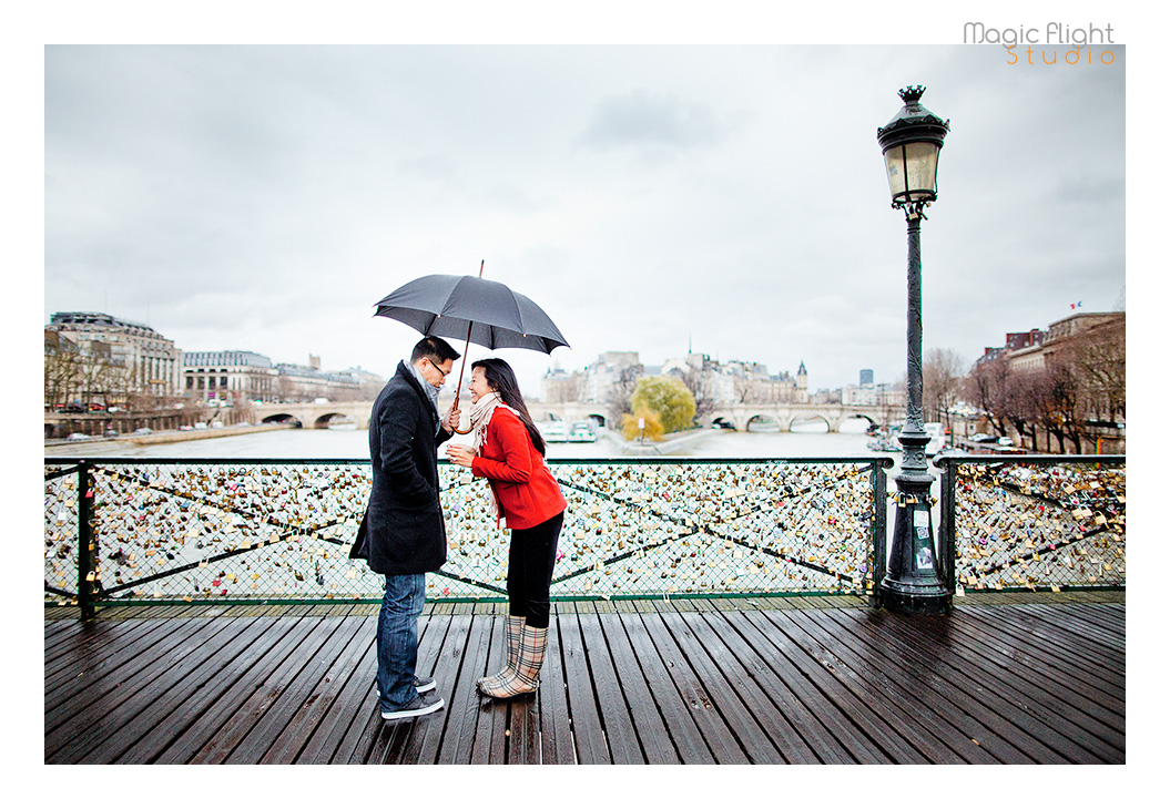 photos de couple pont des arts