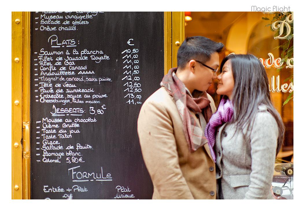 photo passage dans Paris