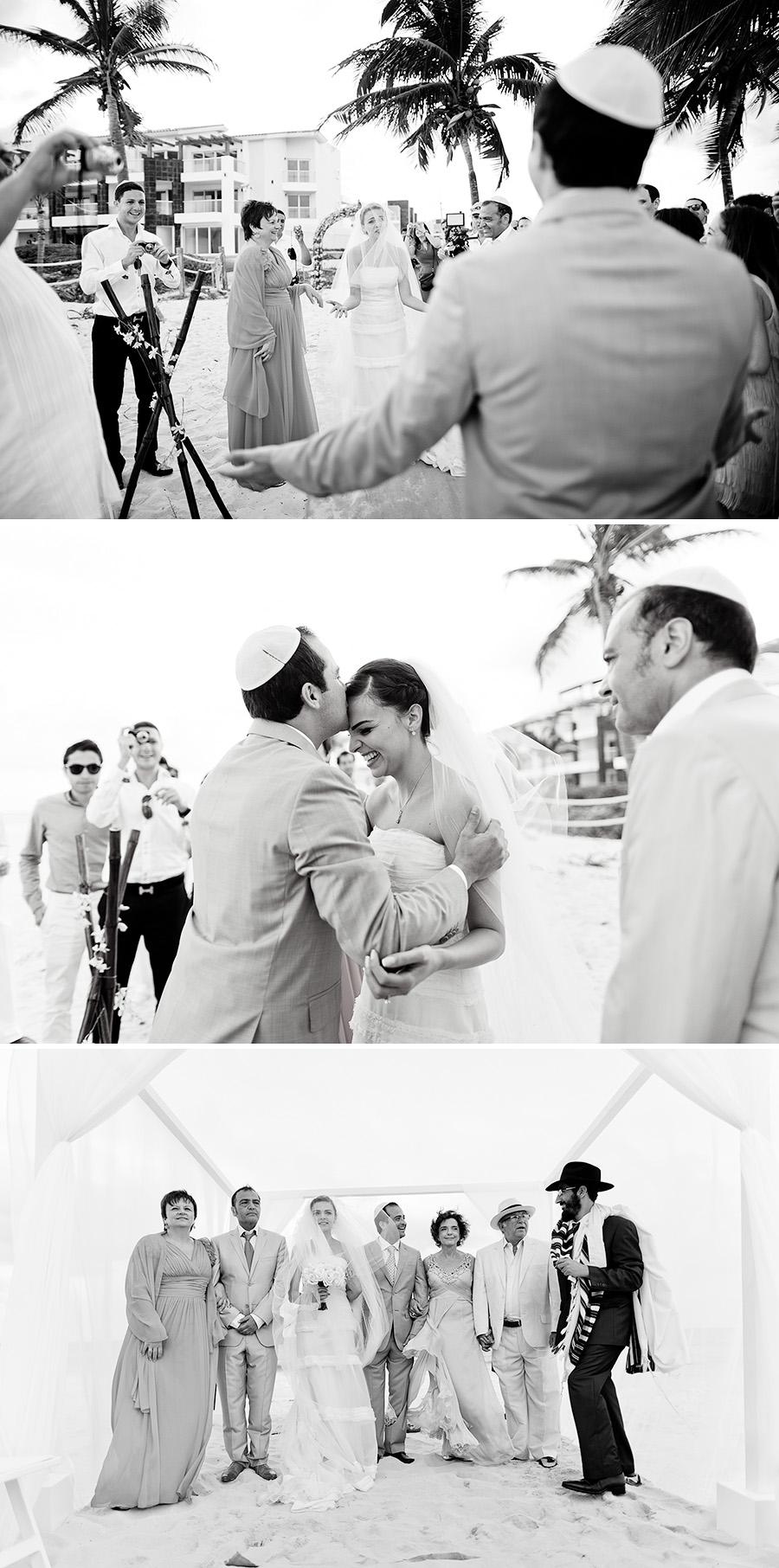 mariage juif sur la plage
