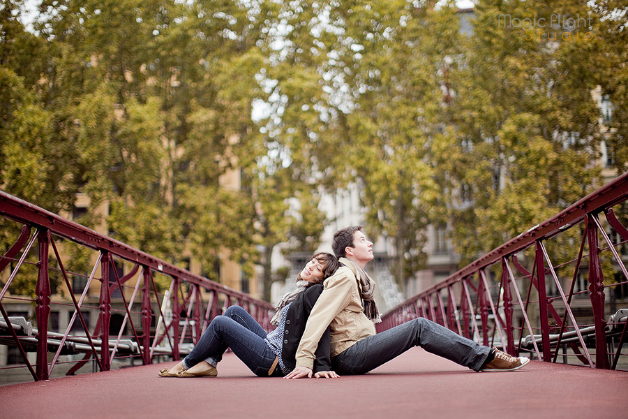 photo de couple à lyon