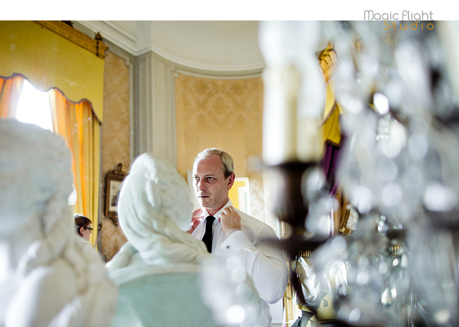 photo de mariage au chateau de dangu