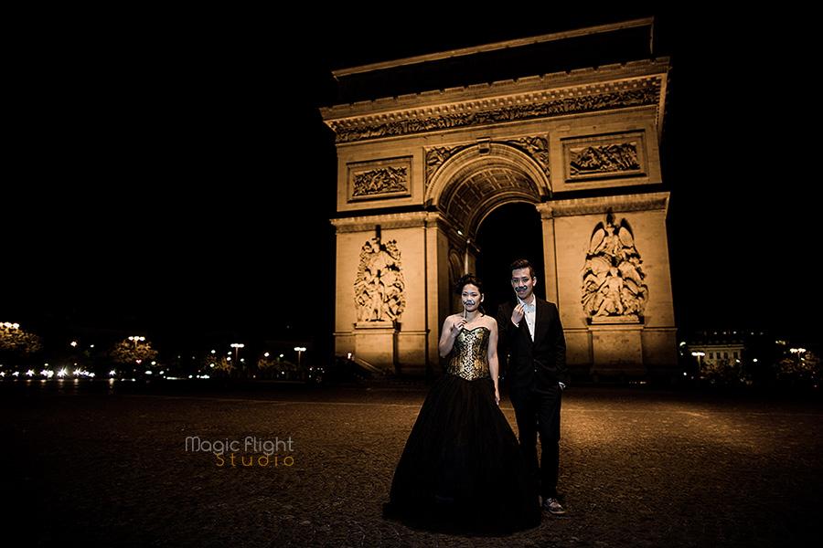 Pre wedding à Paris pour Sharon & Alex