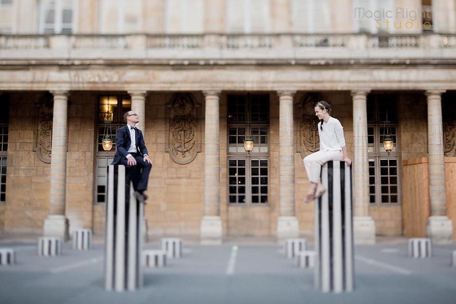 séance avant mariage à Paris 15