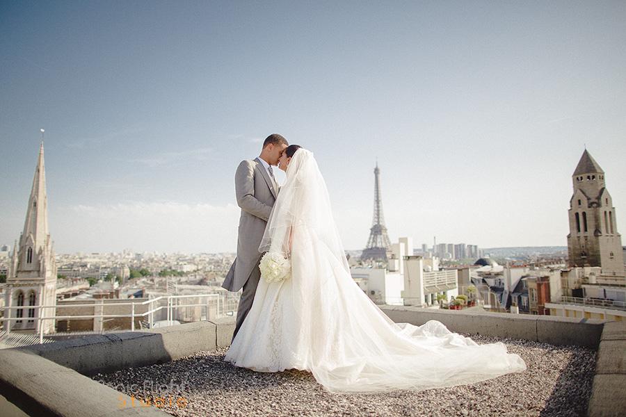 mariage au Four seasons Paris 4