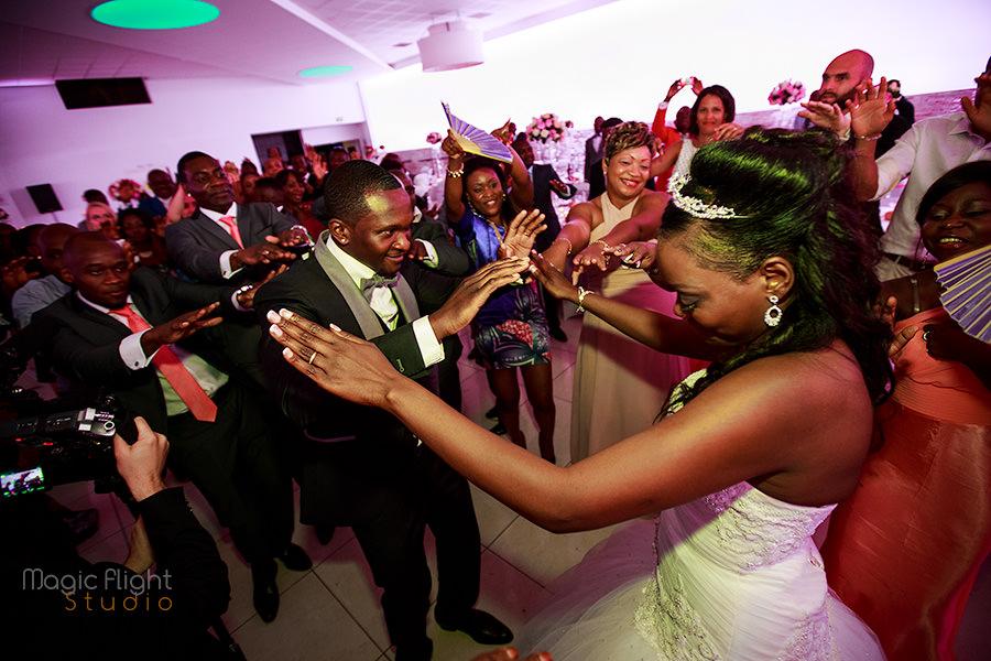 reportage de mariage africain