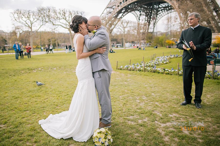 mariage intime à paris